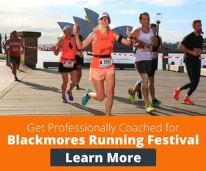 Get Professionally Coached for Blackmores Sydney Running Festival