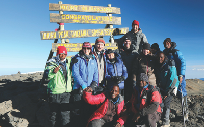 Trek to Summit of Mt Kilimanjaro