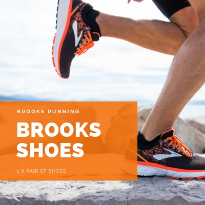 Win A Pair of Brooks Shoes (Up to $250 Value)