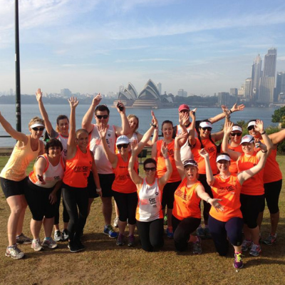 Can Too Run Training Location - North Sydney Kirribilli