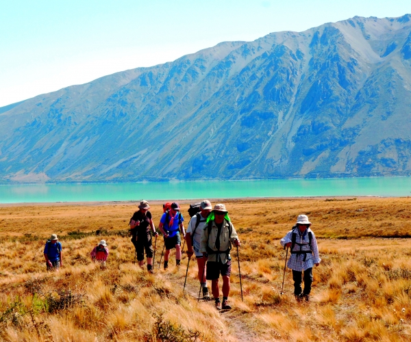 Lake Tekapo - Trek the South Island of New Zealand.
